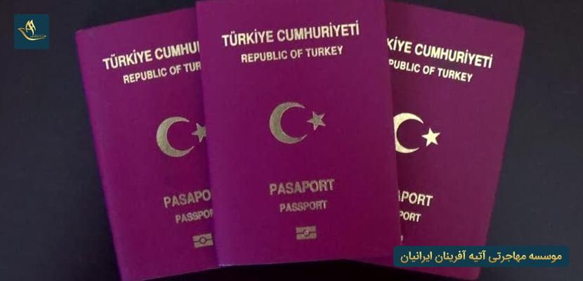 روش های دریافت پاسپورت ترکیه