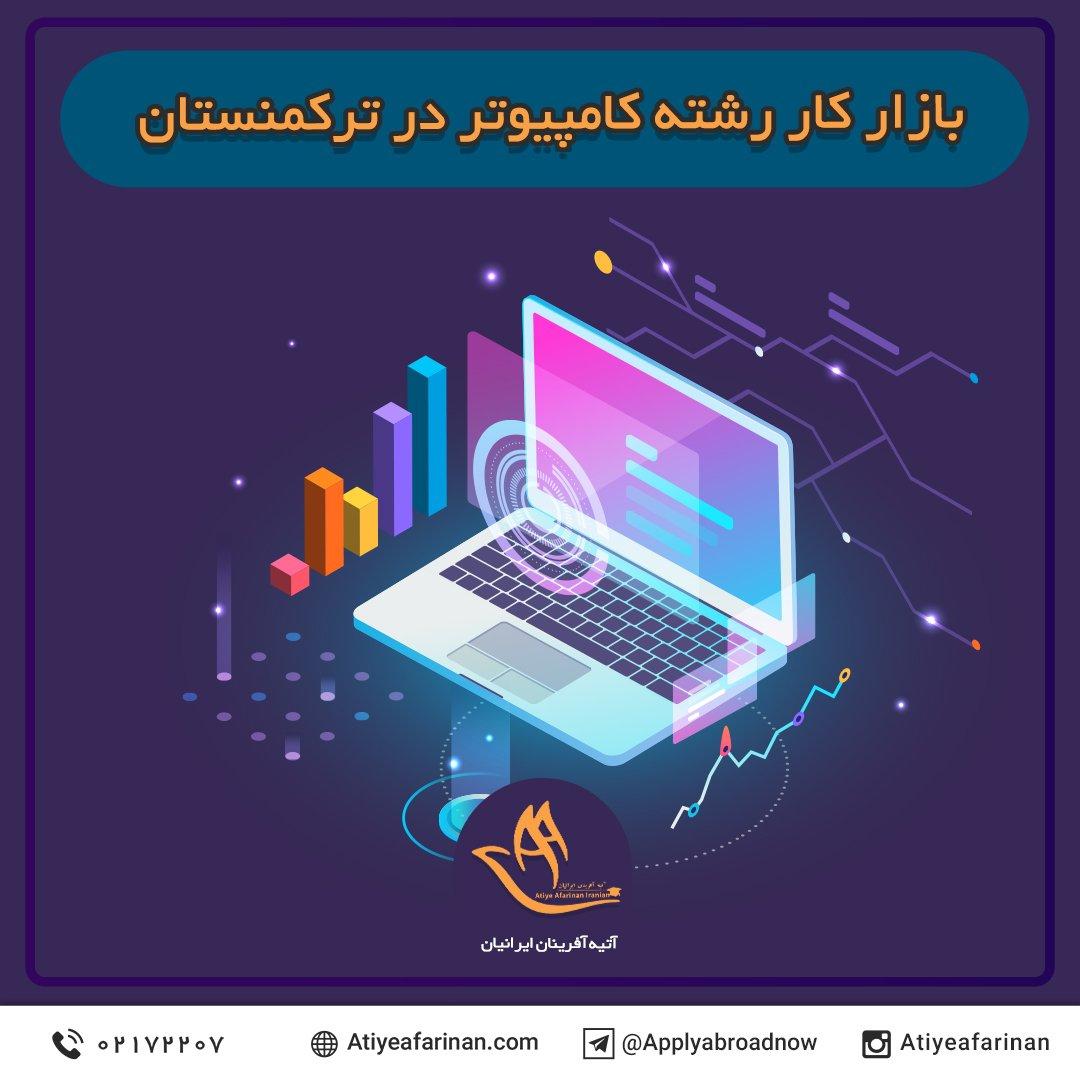 بازار کار رشته کامپیوتر در کشور ترکمنستان 2020
