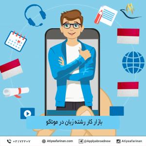 بازار کار رشته زبان در موناکو 2020