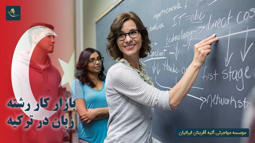 بازار کار رشته زبان در ترکیه