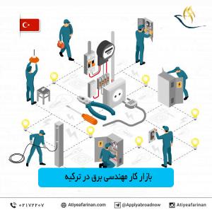 بازار کار مهندسی برق در ترکیه