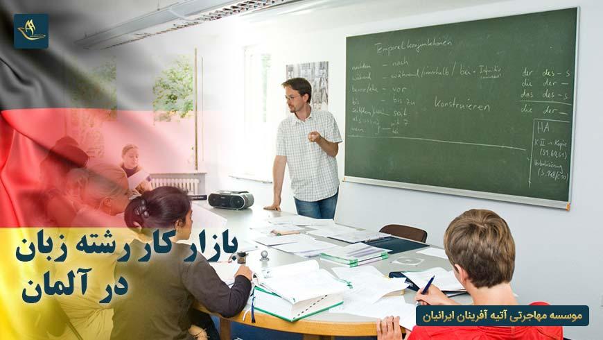 بازار کار رشته زبان در آلمان