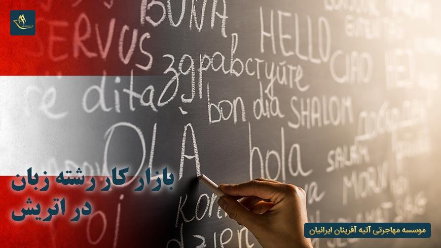 بازار کار رشته زبان در اتریش