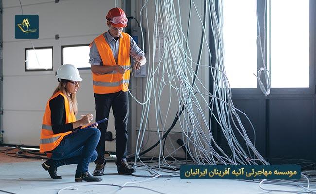 سایر مشاغل با مدارک مهندسی برق