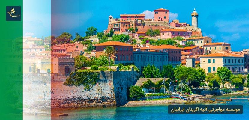 جزیره البا در ایتالیا