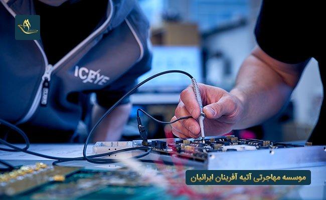 بازار کار مهندسی برق در اسپانیا | شرایط بازار کار مهندسی الکترونیک در اسپانیا | وضعیت کار مهندسین الکترونیک در اسپانیا