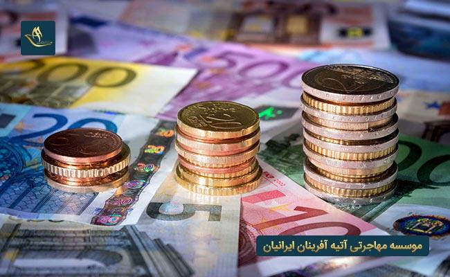 هزینه دریافت ویزای کار اروپا
