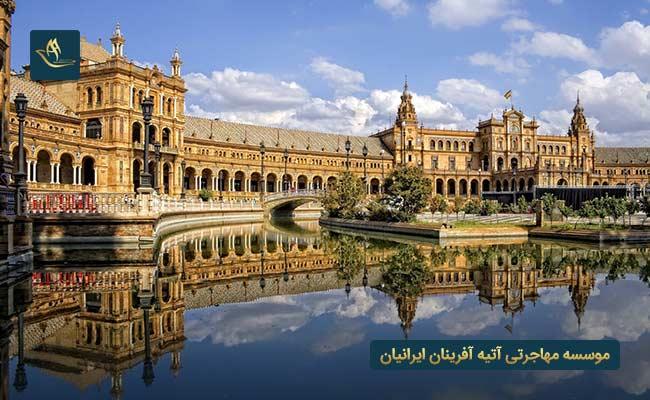 کشور اسپانیا بهترین کشورها برای مهاجرت
