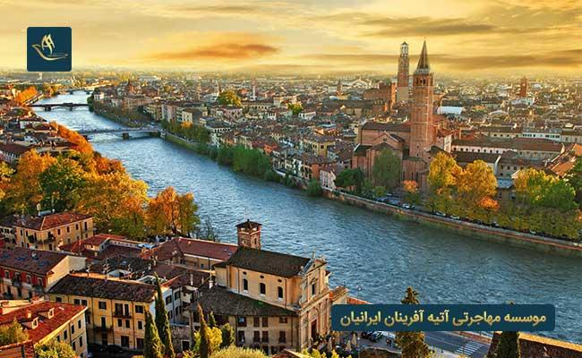 کشور ایتالیا بهترین کشورها برای مهاجرت