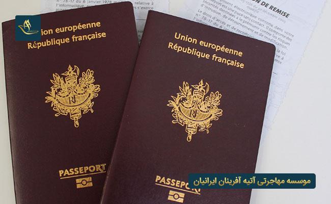 مهاجرت به فرانسه و اخذ تابعیت
