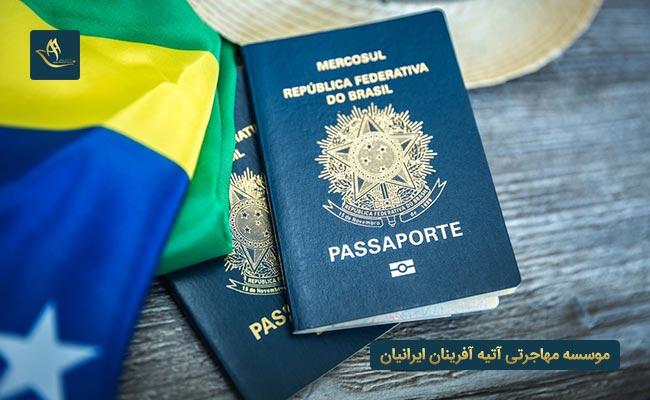 مهاجرت به برزیل و اخذ تابعیت