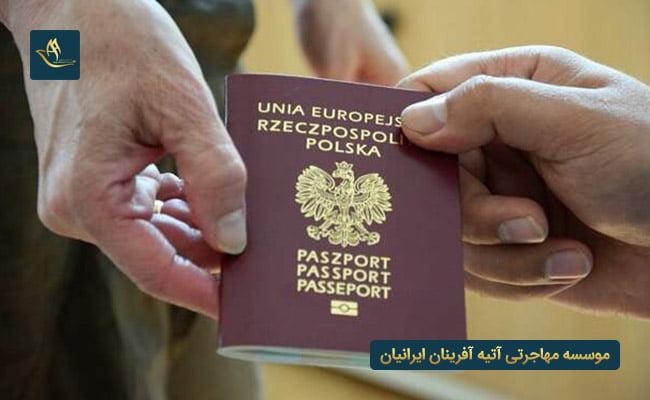مهاجرت به لهستان و اخذ تابعیت