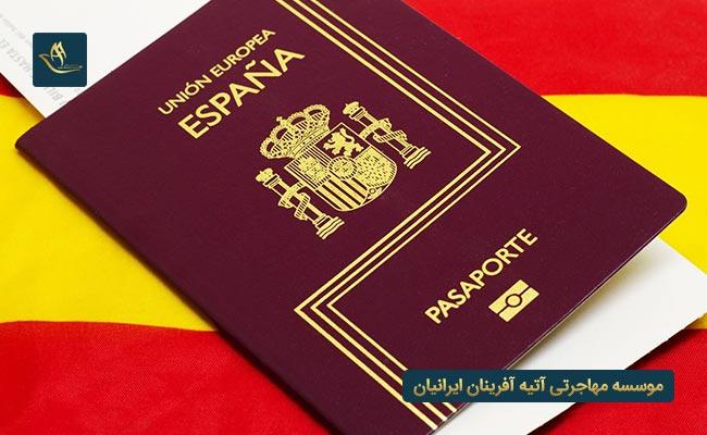مهاجرت به اسپانیا و اخذ تابعیت