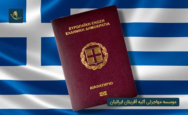 مهاجرت به یونان و اخذ تابعیت