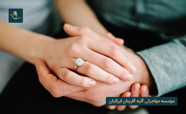 مهاجرت به فرانسه از طریق ازدواج