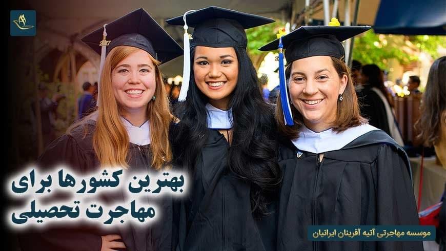 بهترین کشورها برای مهاجرت تحصیلی