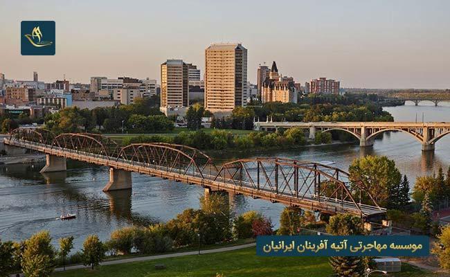 شهر ساسکاتون در کشور کانادا