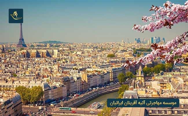 کشور فرانسه - بهترین کشور برای مهاجرت از طریق تمکن مالی