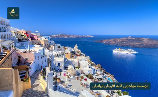 کشور یونان - بهترین کشور برای مهاجرت از طریق تمکن مالی