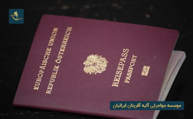 وضعیت اقامت و اخذ تابعیت در اتریش