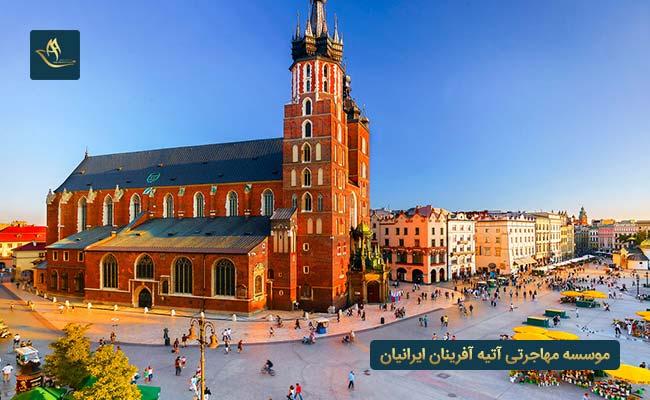 وضعیت اقامت و اخذ تابعیت در لهستان