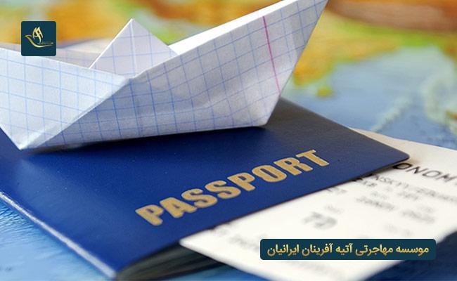 مهاجرت از طریق ویزای کار و اخذ اقامت دائم