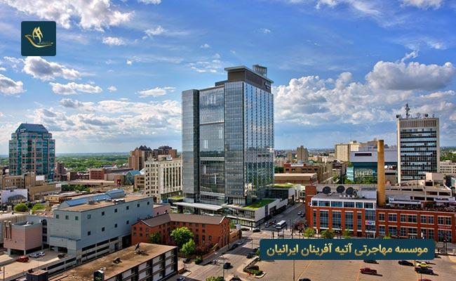 شهرهای مهم کشور کانادا   شهر اتاوا در کشور کانادا    شهر تورنتو در کشور کانادا   شهر وینیپگ در کشور کانادا