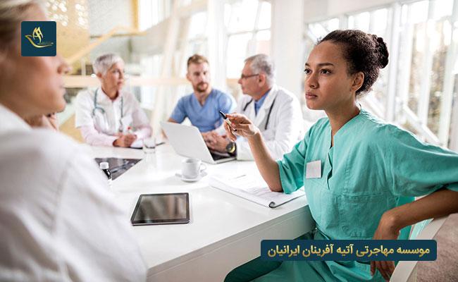 مهاجرت از طریق کار پرستاران و پزشکان در دانمارک