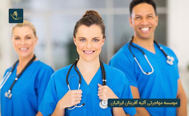 شرایط کار پرستاران و پزشکان در دانمارک