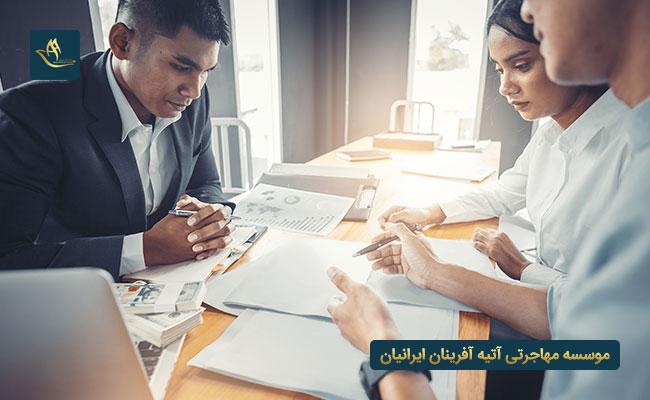 مدارک مورد نیاز ویزای کار فرانسه