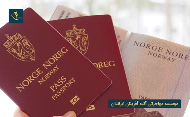 شرایط و مدارک لازم برای اخذ ویزای همراه نروژ