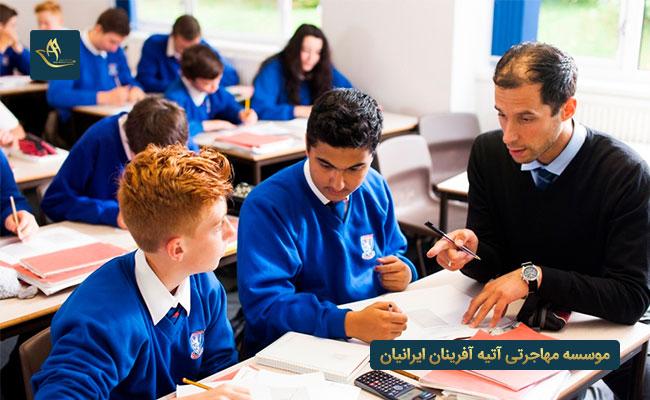 تحصیل در مدارس رومانی