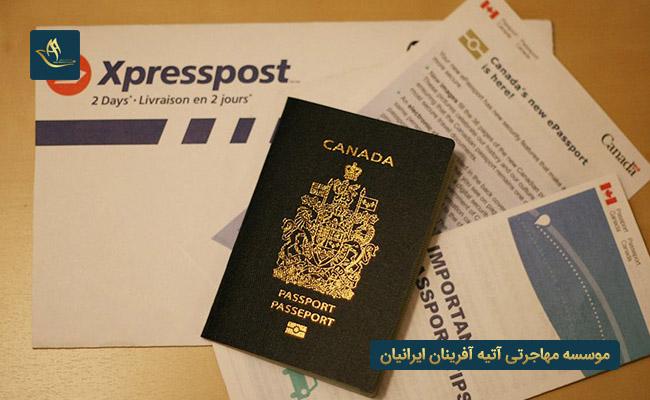 دریافت پاسپورت کانادا از طریق دریافت ویزای کاری کشور کانادا