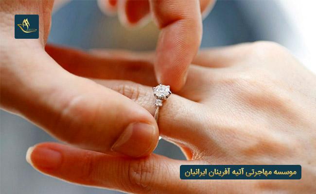شرایط اخذ اقامت ترکیه از طریق ازدواج