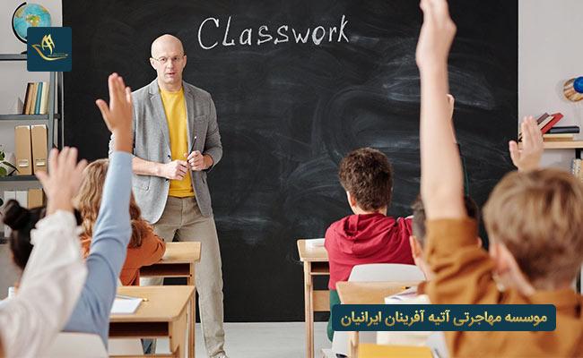 تدریس زبان انگلیسی در کشور ایرلند